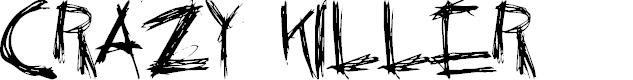 Preview image for Crazy Killer Font