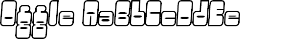 Preview image for Oggle Font