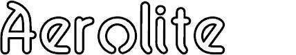 Preview image for Aerolite Sky Font