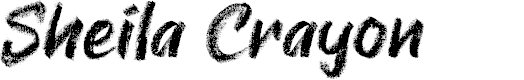 Preview image for Sheila Crayon Font
