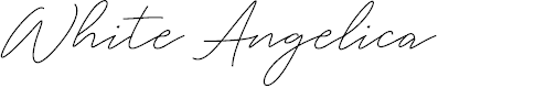 Preview image for White Angelica Font