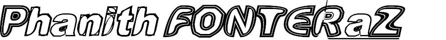Preview image for Phanith FONTER aZ Font