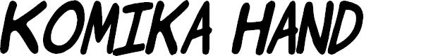 Preview image for Komika Jam Italic