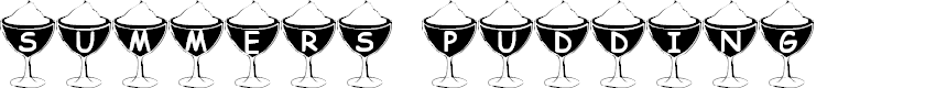 Preview image for Summer's Pudding Font