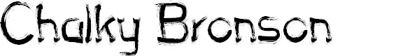 Preview image for Chalky Bronson Font