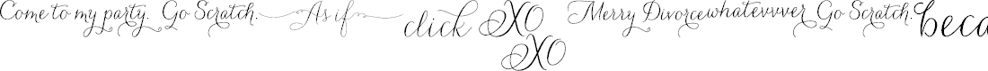 Preview image for CarolynaWords Font