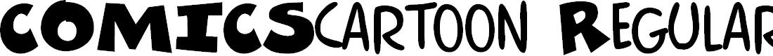 Preview image for ComicsCarToon Regular Font