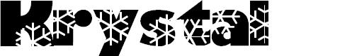 Preview image for Krystal Font