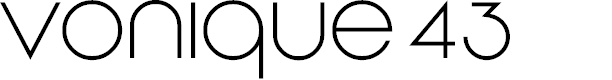 Preview image for Vonique 43 Font