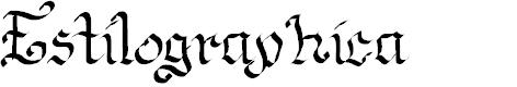 Preview image for Estilographica Font