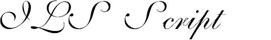 Preview image for ILS Script Font