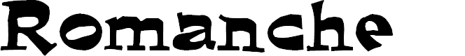 Preview image for Romanche Normal Font