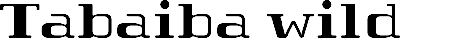 Preview image for Tabaibawildffp Font