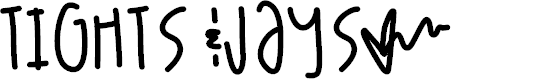 Preview image for TightsJays Font