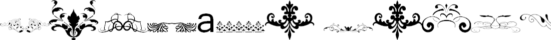 Preview image for Vintage Decorative Signs 15 Font