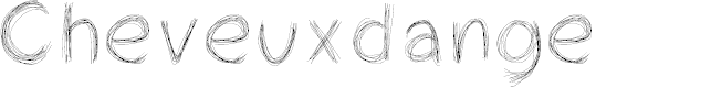 Preview image for Cheveuxdange Font