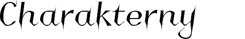 Preview image for Charakterny Font