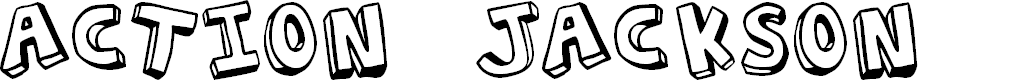 Preview image for Action Jackson Font