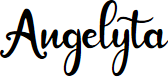 Preview image for Angelyta Font
