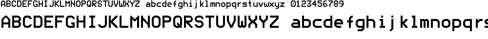 Preview image for ModeNine Font