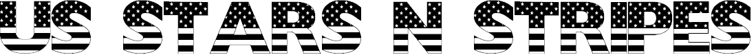 Preview image for USStarsNStripes Font
