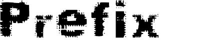 Preview image for Prefix Font