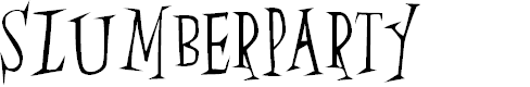 Preview image for SlumberParty Font