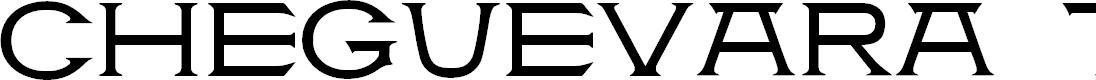 Preview image for CheGuevara Tittle Regular Font
