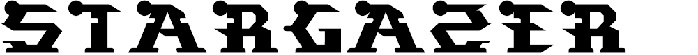 Preview image for STARGAZER Font