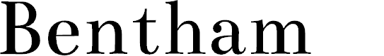 Preview image for Bentham Font