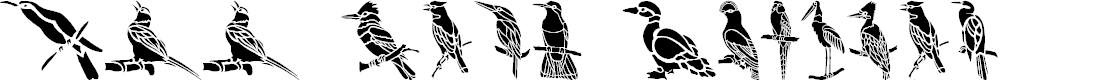 Preview image for HFF Bird Stencil