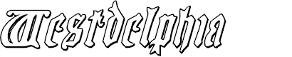 Preview image for Westdelphia 3D Italic