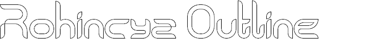 Preview image for Rohingya Outline Font