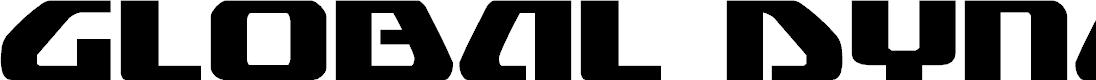 Preview image for Global Dynamics Regular Font