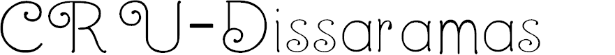 Preview image for CRU-Dissaramas Font