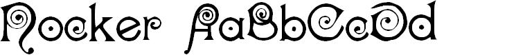 Preview image for Nocker   Cranky Font