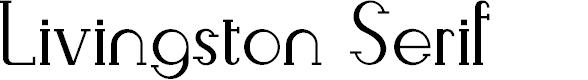 Preview image for Livingston Serif