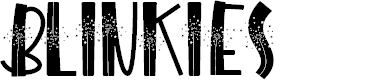 Preview image for BLINKIES Font