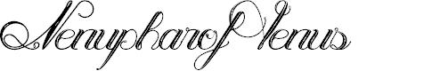 Preview image for NenupharofVenus Font