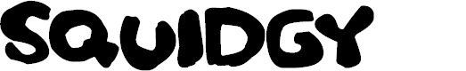 Preview image for Squidgy Font