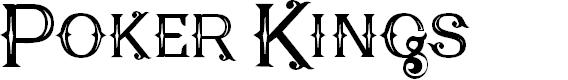 Preview image for Poker Kings Regular Font
