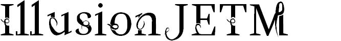 Preview image for IllusionJETM Font