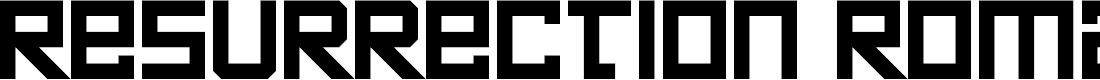 Preview image for Resurrection Roman Regular Font