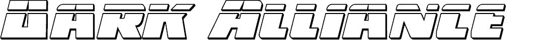 Preview image for Dark Alliance Bullet Italic