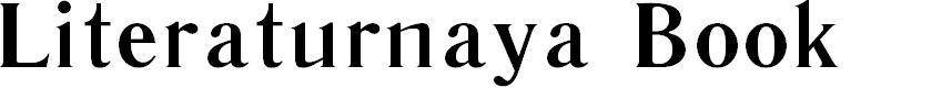 Preview image for Literaturnaya Book Font