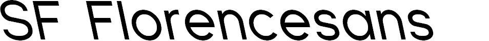 Preview image for SF Florencesans Rev Italic