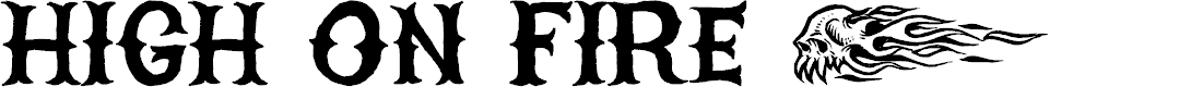 Preview image for HIGHONFIRE Font