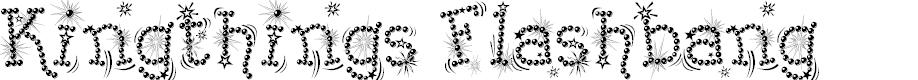 Preview image for Kingthings Flashbang Font