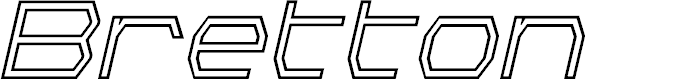 Preview image for Bretton Outline Italic