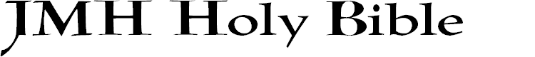 Preview image for JMH Holy Bible Font